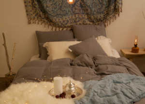 寝室 スタイリング 寝室 インテリア おしゃれ Styling04 人気のモロッコインテリアでエキゾチックなスタイリング