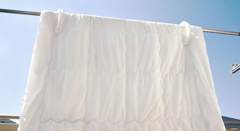 掛け布団を快適に保つおすすめの方法
