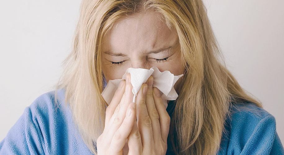 免疫力が低下して風邪をひきやすくなる